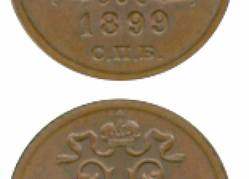 Каталог медных монет Николая II