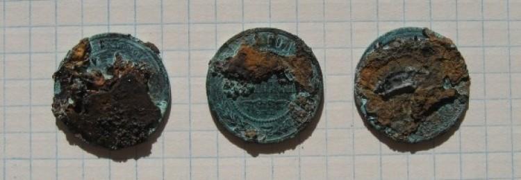 Чистка монет нагревом