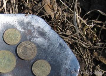 Вывариваем медные монеты в масле