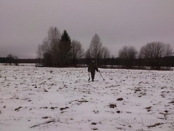 Первый снег не помеха для копа